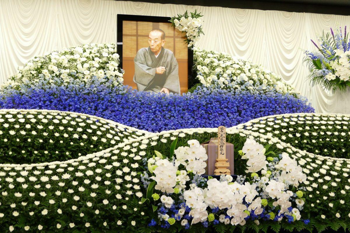 桂歌丸さんの告別式。横浜・妙蓮寺に2,500名もの参列者が最後のお別れに