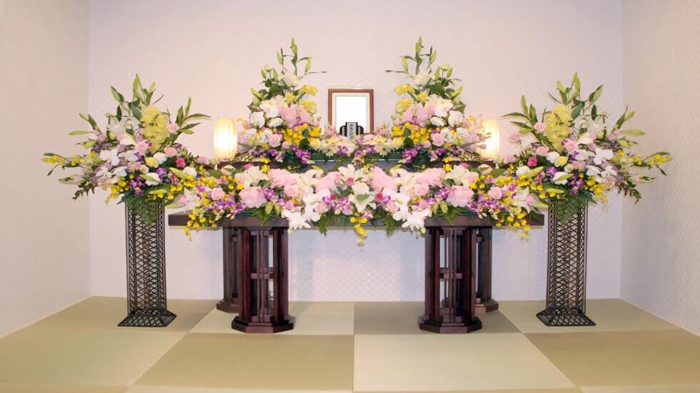 家族だけで見送れる少人数の葬儀式場 イメージ画像