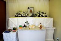 西栄寺にて無宗教葬
