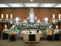 鶴見斎場併設式場での葬儀