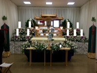 桐ケ谷斎場 ひなたの家族葬 神道式