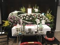 信成会館での家族葬 15名