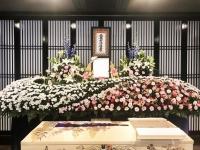 信成会館で家族葬30名