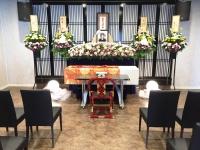 信成会館で家族葬15名