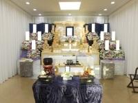 町屋斎場で白木五段祭壇のお葬式