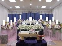 代々幡斎場で行ったお花に囲まれたお葬式