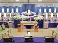 代々幡斎場で社葬