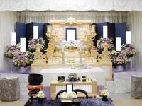 四ツ木斎場で白木祭壇のお葬式