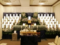 東本願寺慈光殿(浅草)で200名の葬式