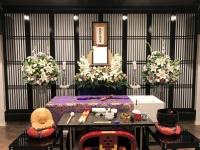 信成会館で一日葬15名