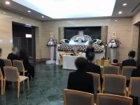 箕面市立聖苑での家族葬