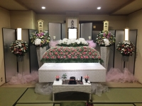 大阪市立北斎場、小式場で家族葬