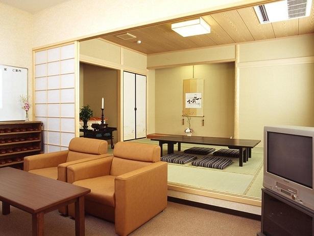 座敷が併設された控室 イメージ画像