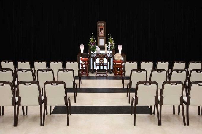 平安会館 志段味斎場法要祭壇
