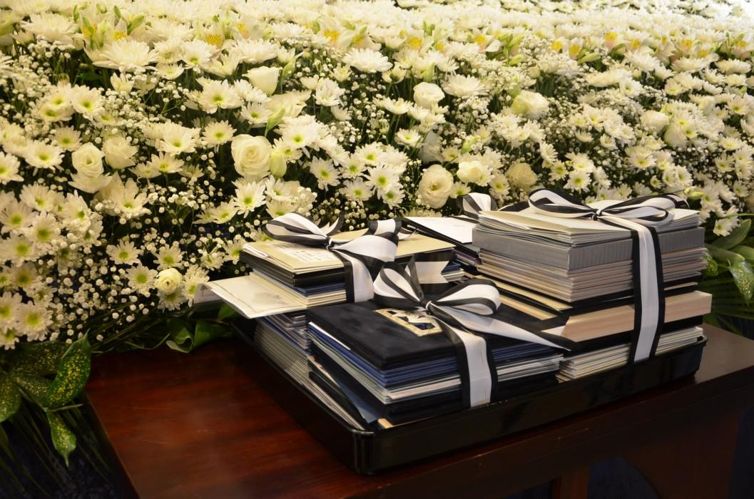 社葬の弔電