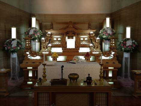 ウイングホールにて行うご家族葬プラン