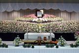 お花で送る、大規模葬儀・社葬